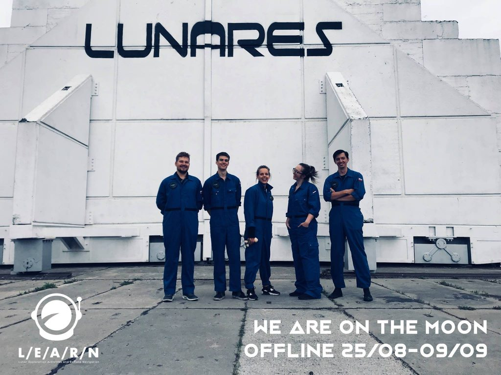 LEARN Mission, Crew Members, ©LunAres Team
